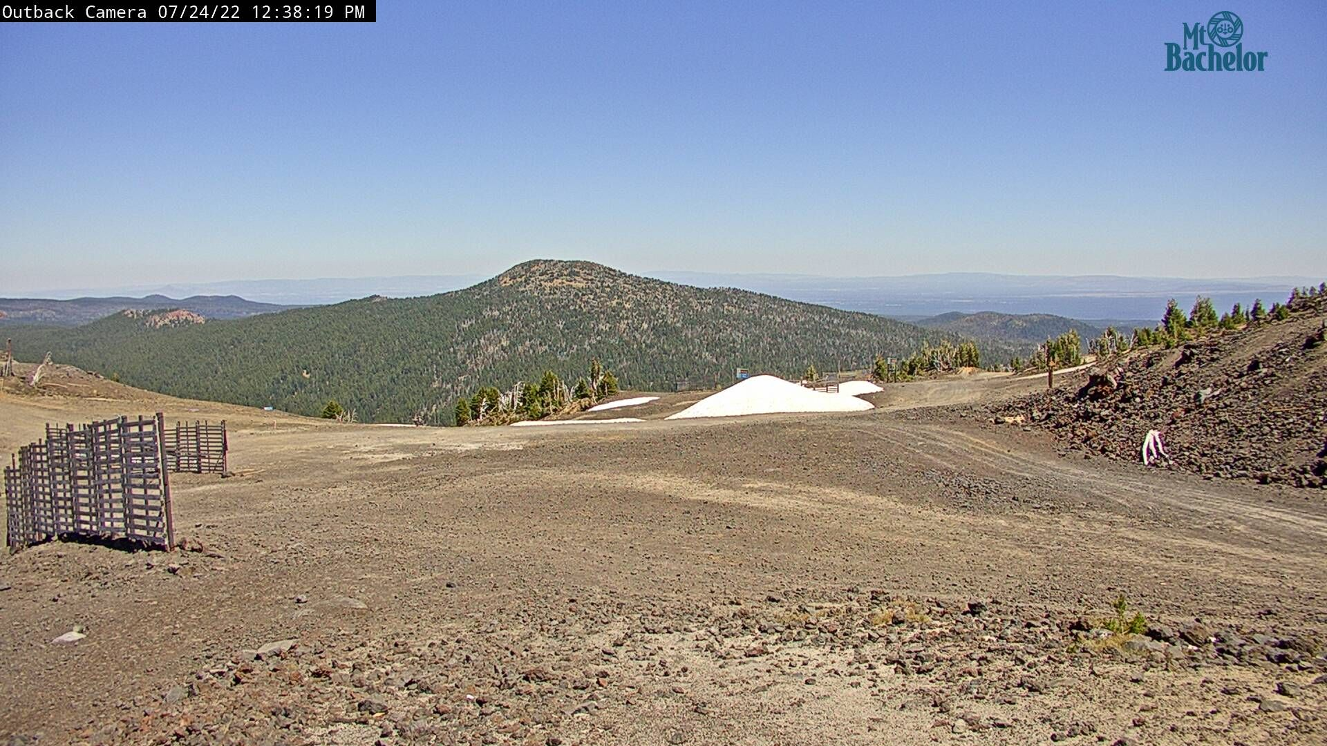 Mt. Bachelor Tumalo and Bend from Outback webcam image